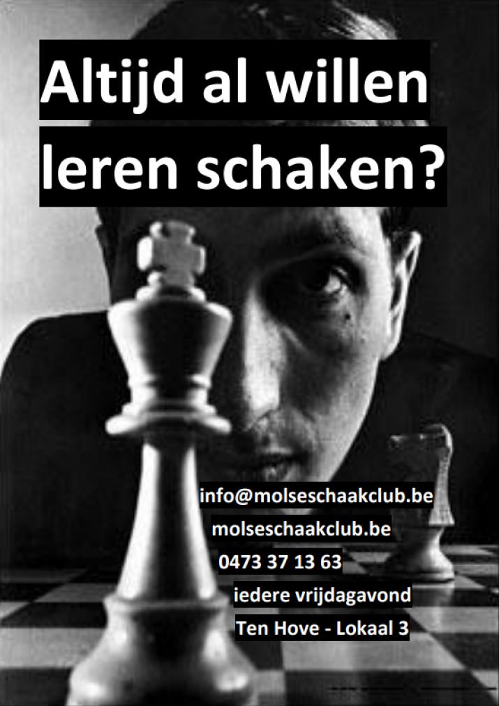 Altijd al willen leren schaken ?