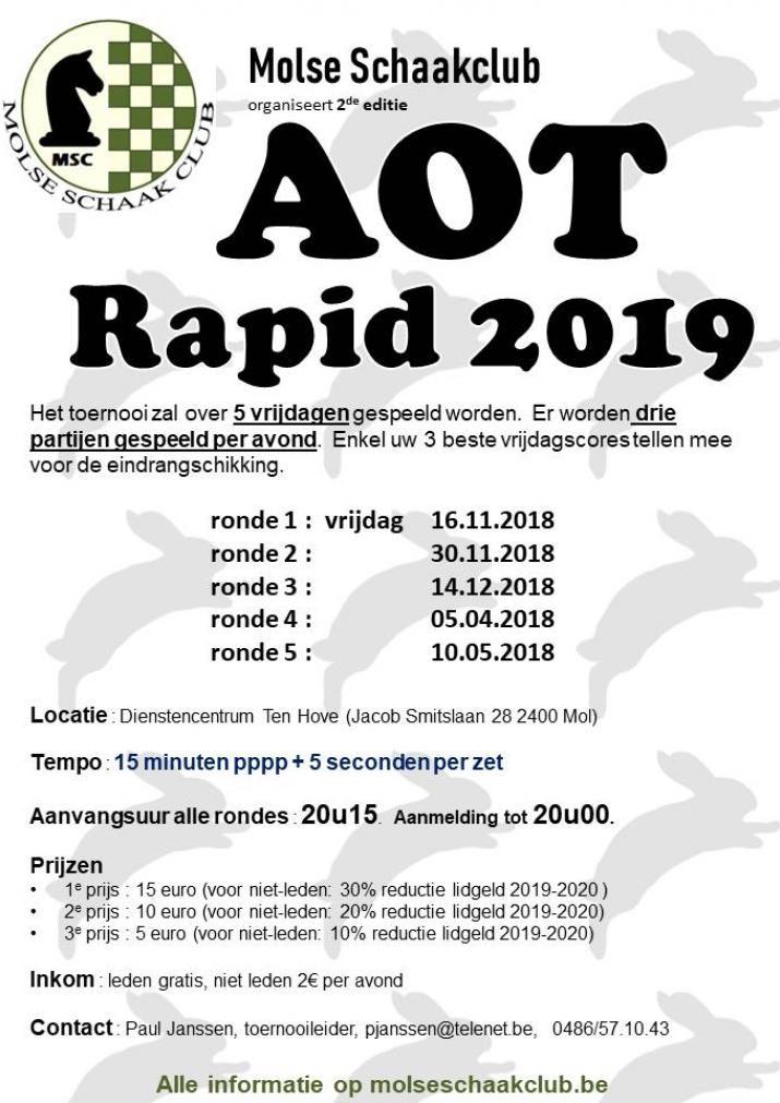 2de AOT Rapid start 16 november 2018