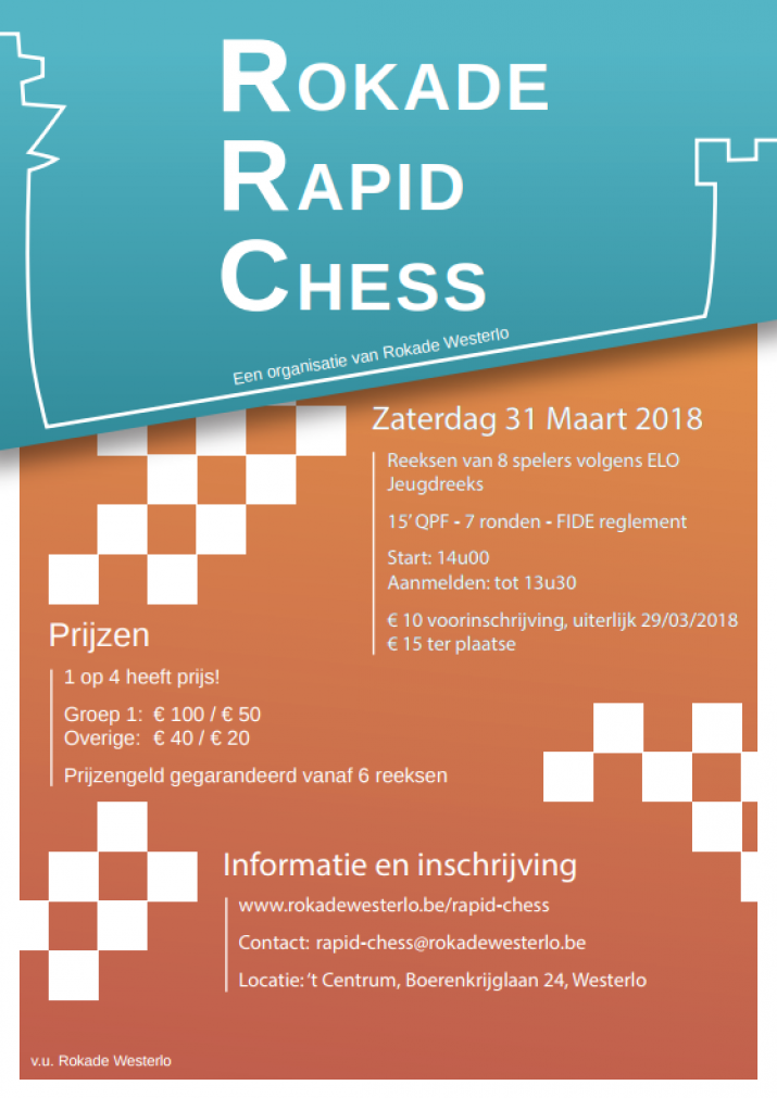 Rokade Rapid Chess 2018 Westerlo