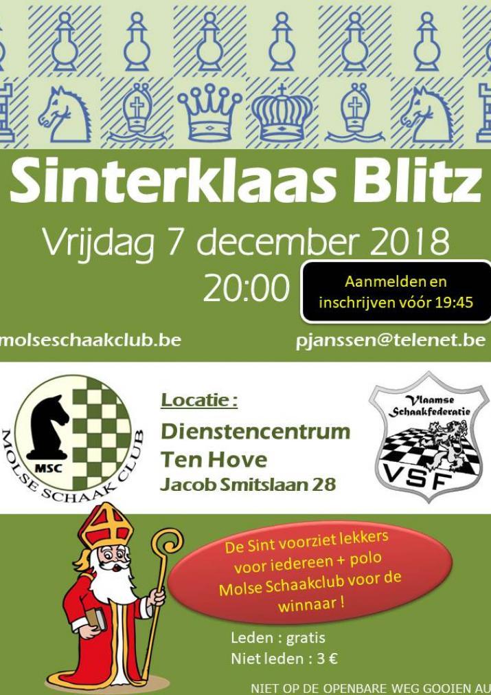 Sinterklaas Blitz 2018