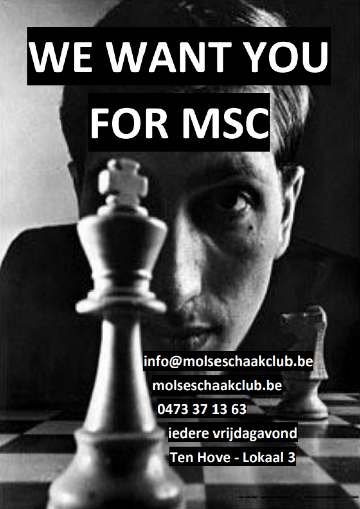We want you for MSC !